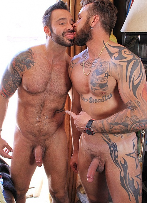Naked hairy muscle gay sex movie
