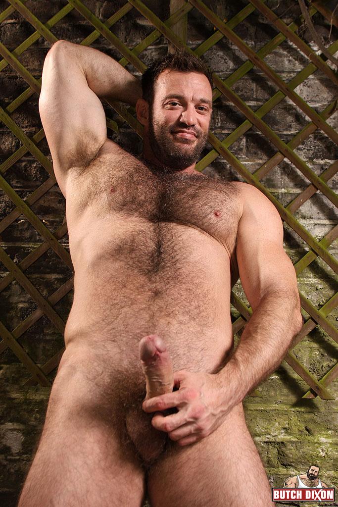 Really hairy gay men