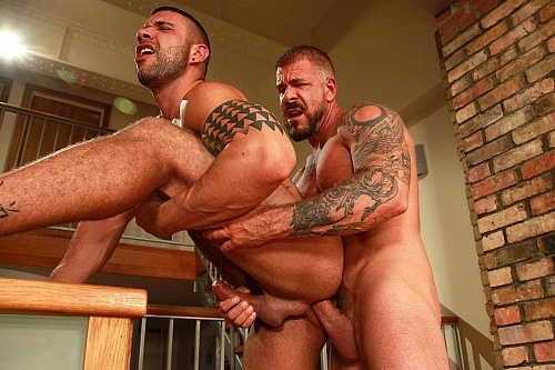 Rocco steele and adam russo bareback